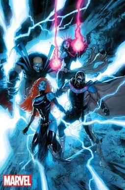 Uncanny X-Men #7 variant cover by Ryan Sook