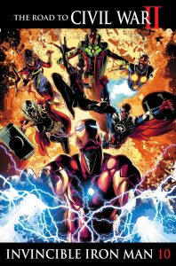 Invincible Iron Man, tie-in