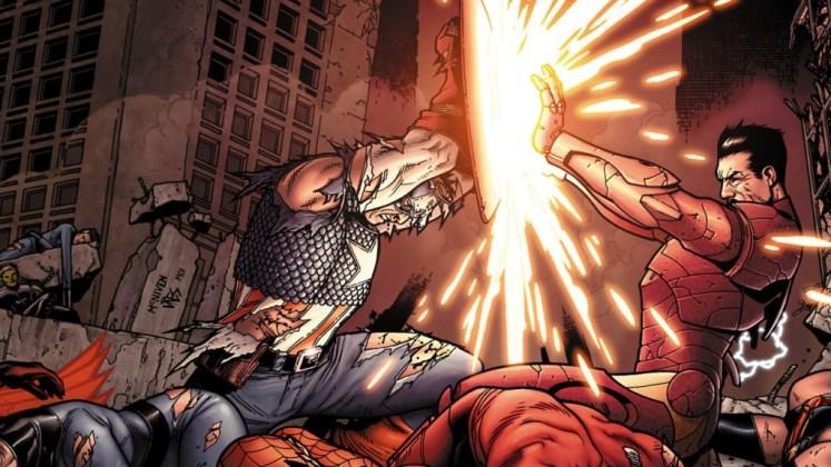 civil-war-capi vs Iron man