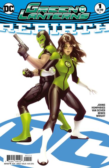 Green Lanterns variant cover