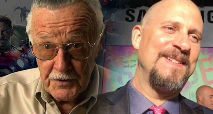 David Ayer y Stan Lee