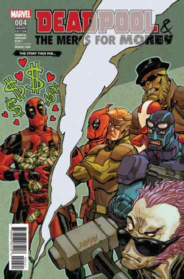 Deadpool and the Mercs for Money Variant Cover
