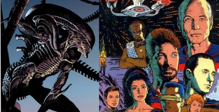 Star Trek: The next generation/ Alien