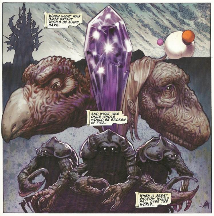 Cristal Oscuro: Los mitos de la creación
