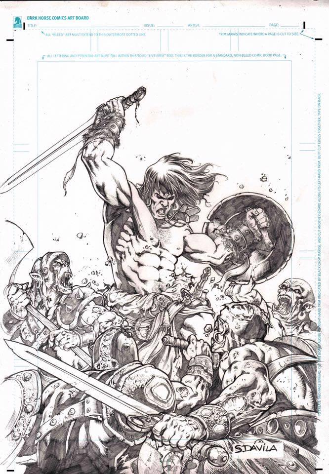 35 aniversario de Planeta Conan portada Sergio Dávila Lapíz