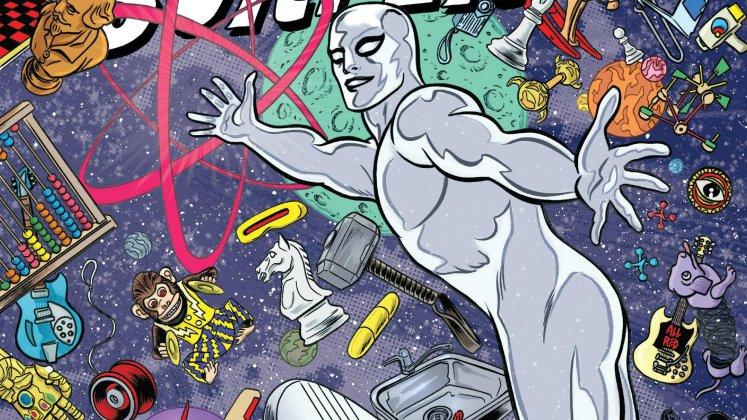 Estela Plateada #4: Ciudadano de la Tierra, de Dan Slott y Mike Allred