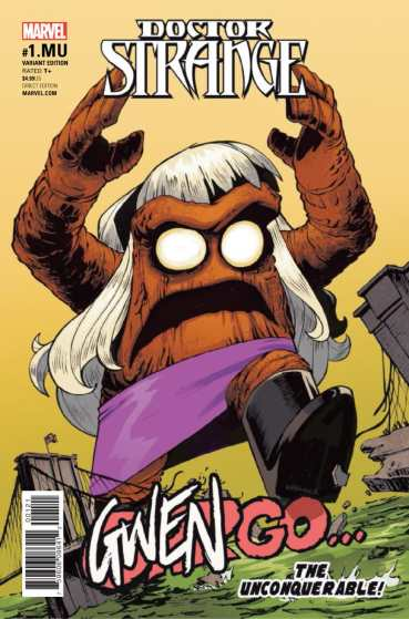 VISTAZO Doctor Strange #1.MU