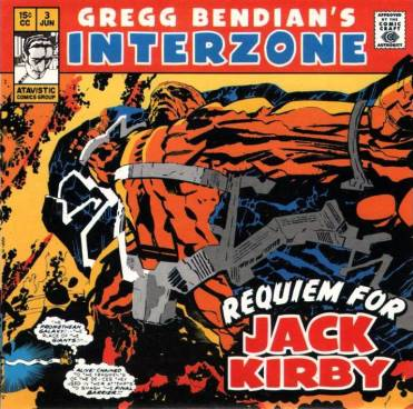 Jack Kirby Greg Bendian´s interzone
