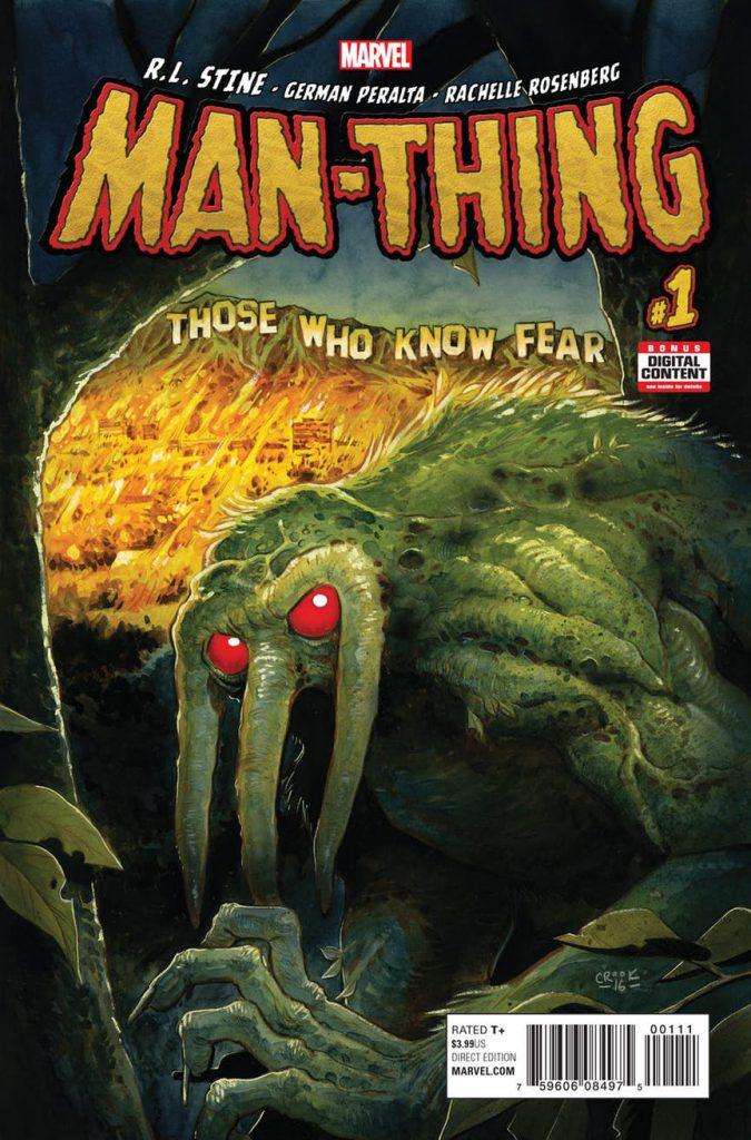 VISTAZO Man-Thing #1