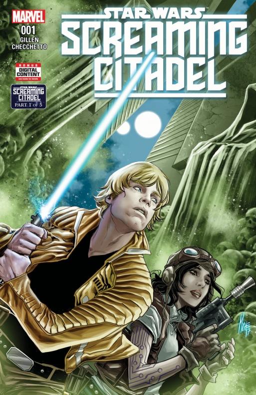 NOTICIA Nuevo crossover Star Wars en Marvel: The Citadel Screaming