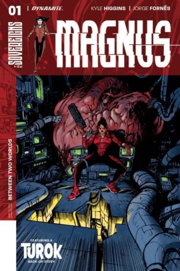 NOTICIA Kyle Higgins y Jorge Fornés serán los encargados de la serie de Dynamite 'Magnum'