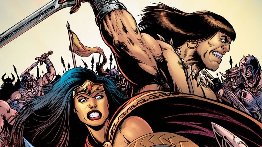 VISTAZO Wonder Woman / Conan #1