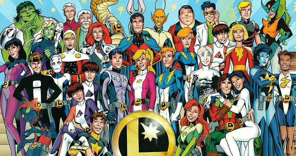 NOTICIA DiDio confirma el regreso de JSA y Legion de Superhéroes