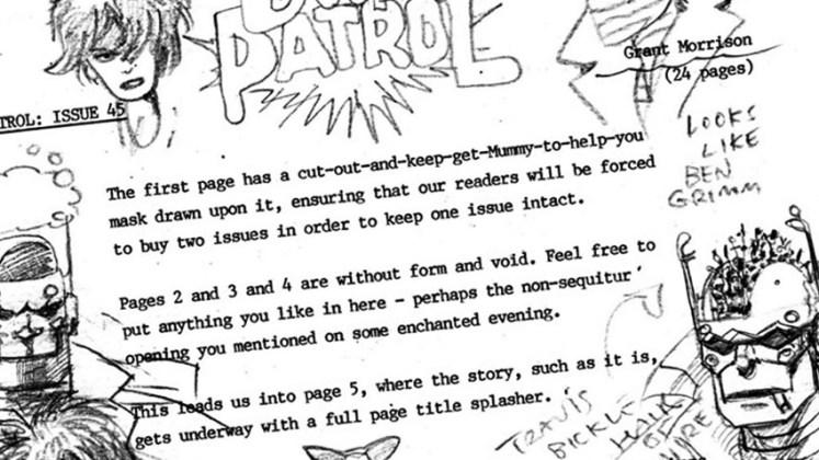 guion en el comic