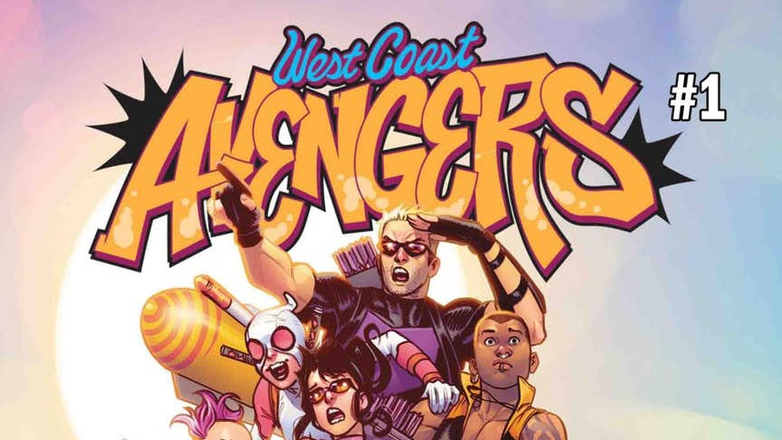 NOTICIA West Coast Avengers se reúnen en la nueva serie de Marvel