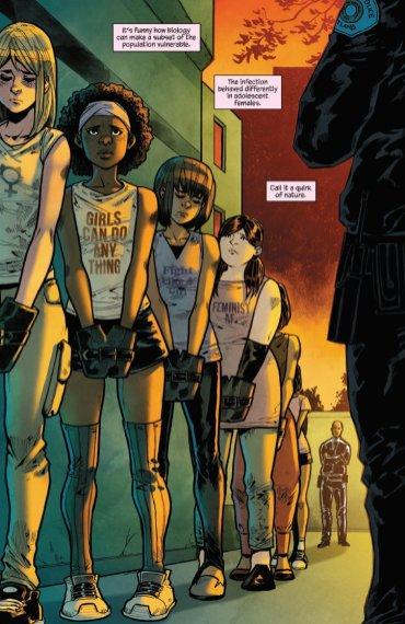 Man-Eaters lo nuevo de la escritora para Image Comics