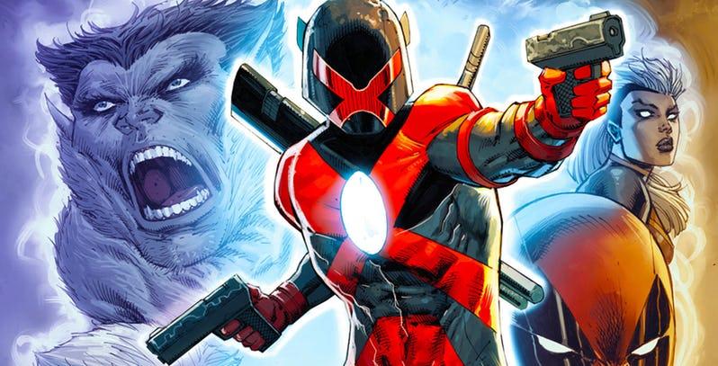 NOTICIA Major X, la nueva serie mutante de Rob Liefeld y Whilce Portacio para Marvel