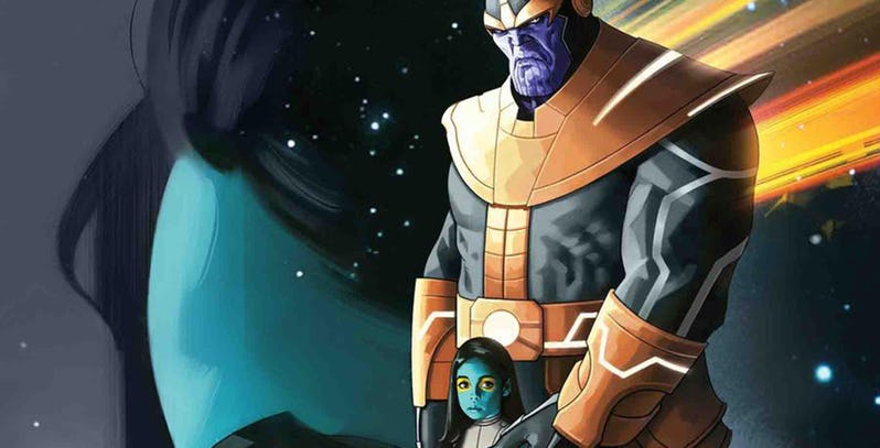 NOTICIA Thanos compartirá una nueva miniserie con Gamora