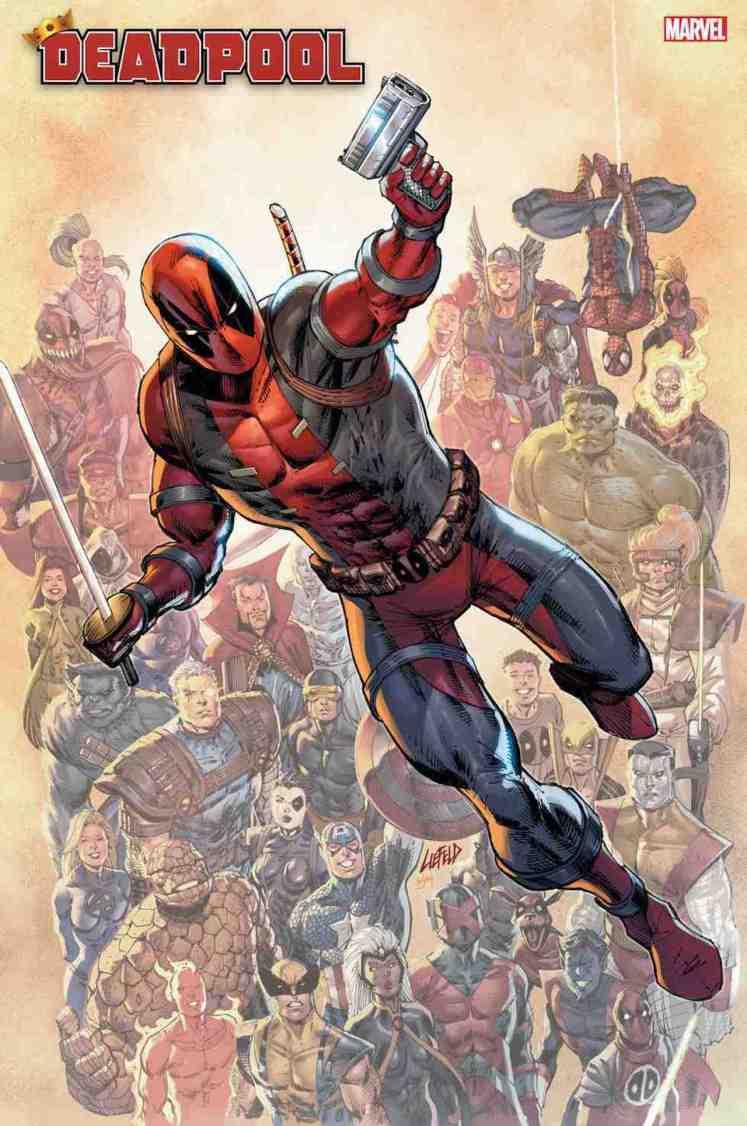 Rob Liefeld vuelve a Deadpool