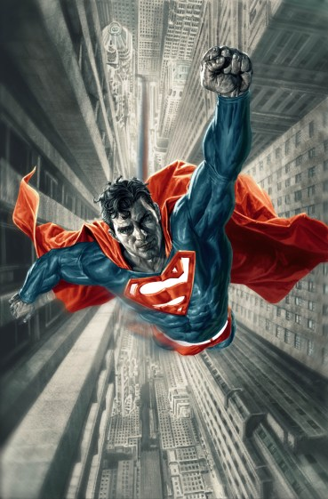 Portada Superman Red and Blue
