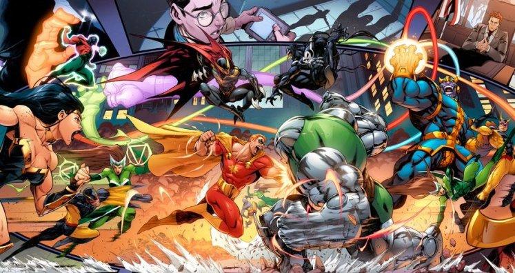 Heroes Reborn 2021 de Jason Aaron y Ed Mcguiness