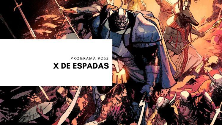 x de espadas