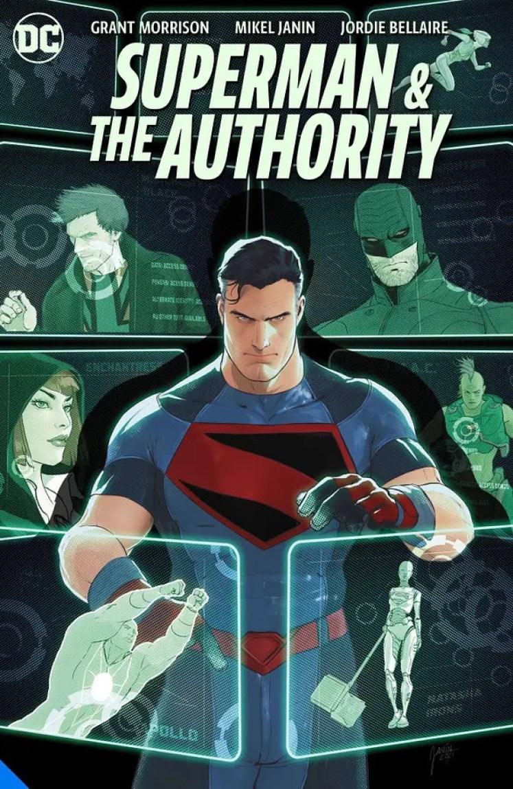 Portada Superman & The Authority de Grant Morrison y Mikel Janin