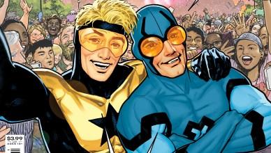 Dan Jurgens se reúne con Booster Gold y Blue Beetle