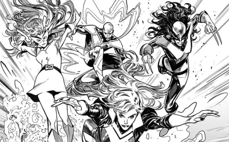 Deslumbrantes primeras páginas de Pepe Larraz para X-Men #1