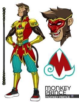 Diseño Monckey Prince
