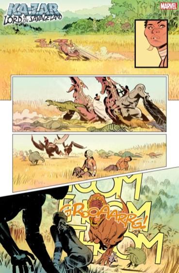 Página 3 Ka-Zar Lord of the Savage Land #1