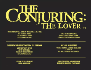 Página 3 The Conjuring The Lover #1