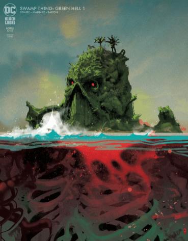 Portada Swamp Thing Green Hell