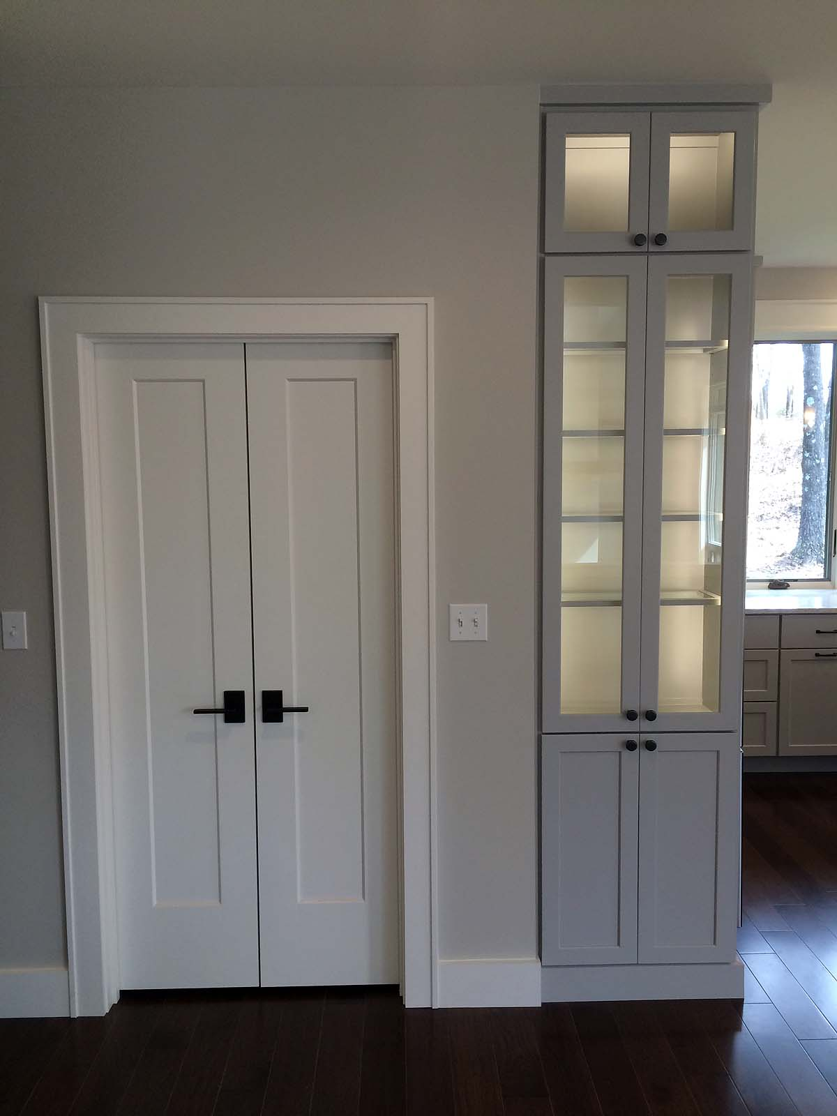 Doors Interior Custom Homes By Tompkins Construction