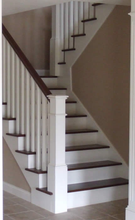 Stairs Steps And Railings Interior Custom Homes By