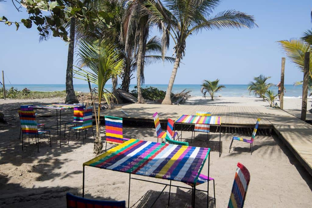 Costeno beach hostel Caribbean Coast Colombia