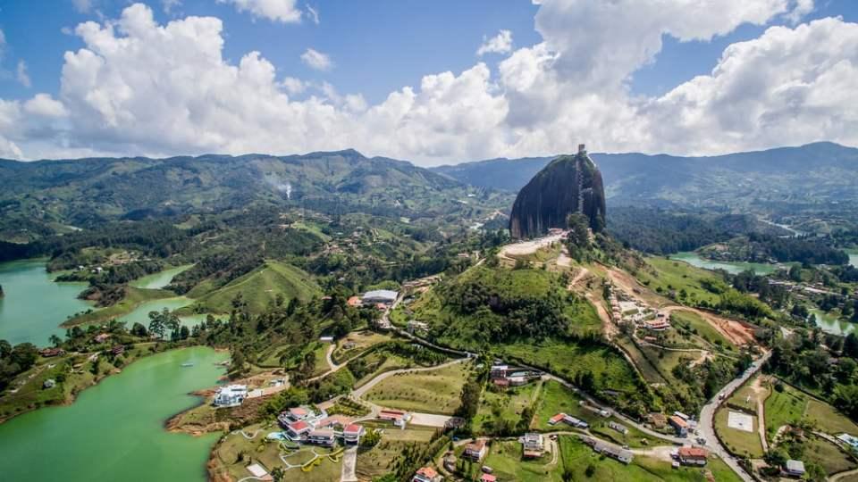 Arial view El penon
