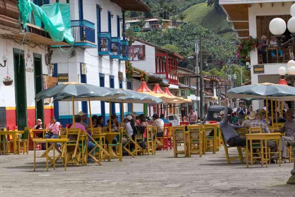 Main Square in Jardin - Barna Tanko