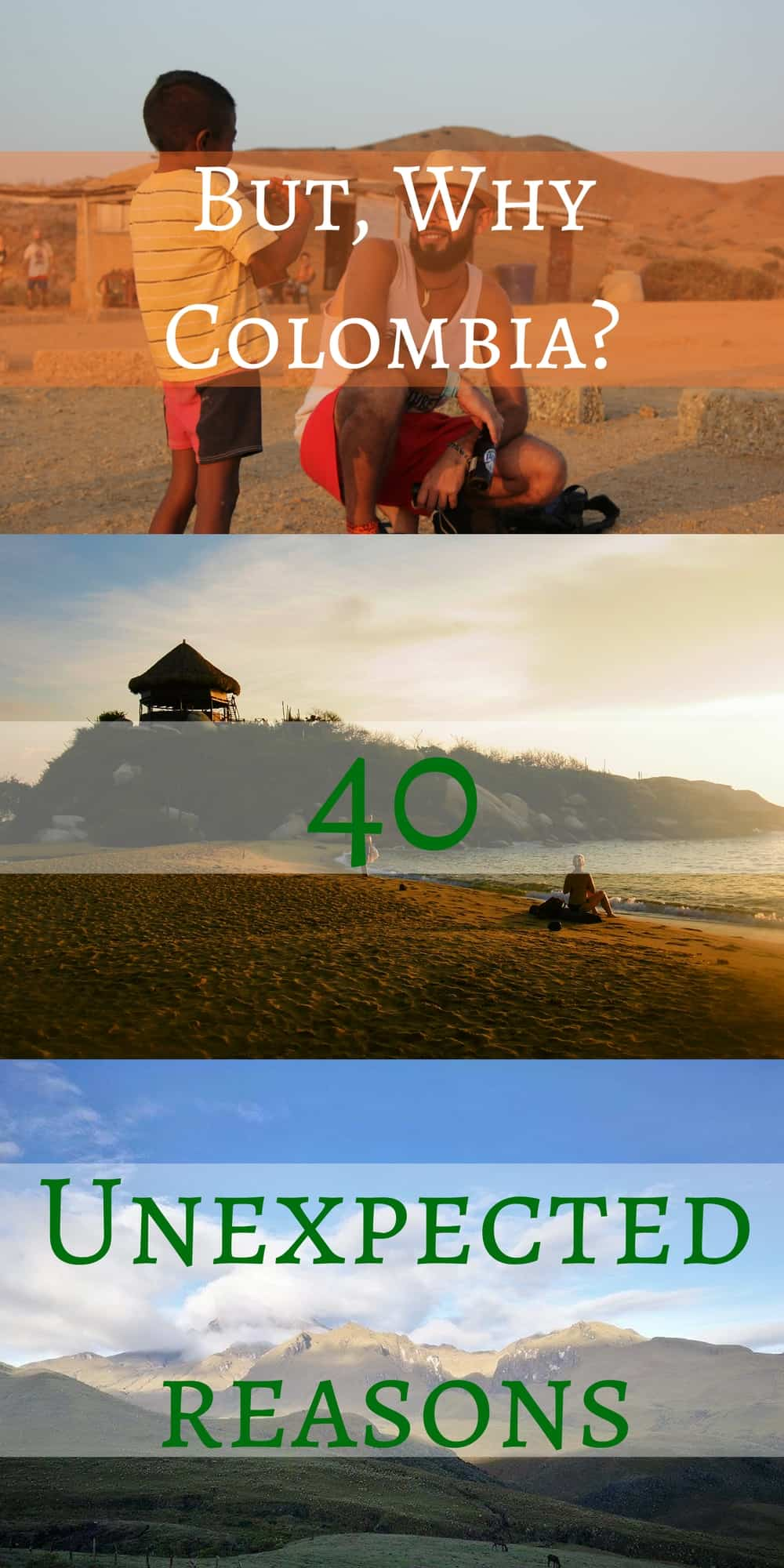 40 reasons why trip to Colombia