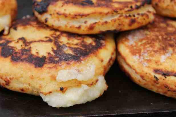 Arepas Street food Colombia