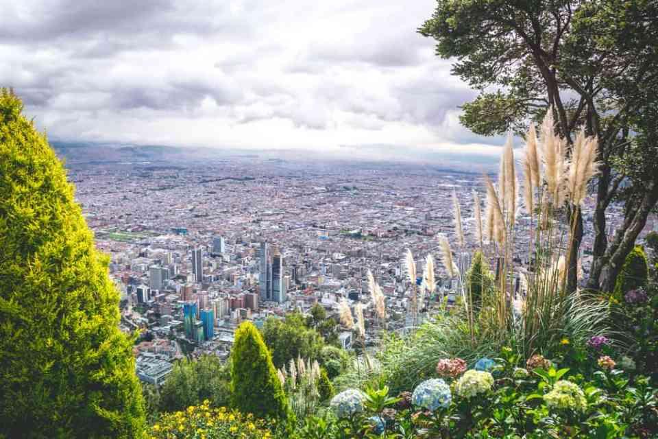 View Bogota Colombia