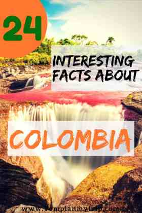 Pinterest Interesting Facts About Colombia
