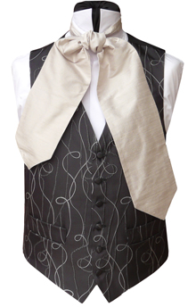 CRAVATS SELF TIE Neckwear Gentlemens Wedding Neckwear