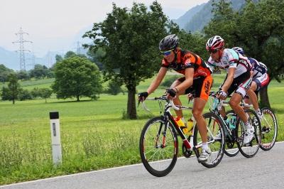 Sportliche Rennradtour