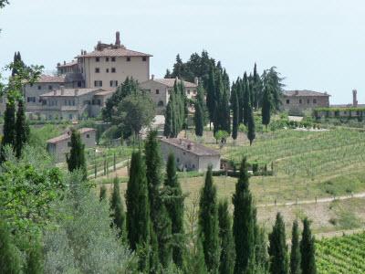 Toskanisches Dorf
