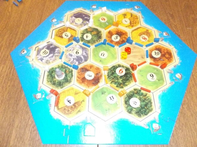 Catan with Building