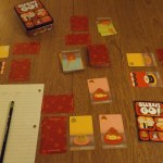 Sushi Go In Progress