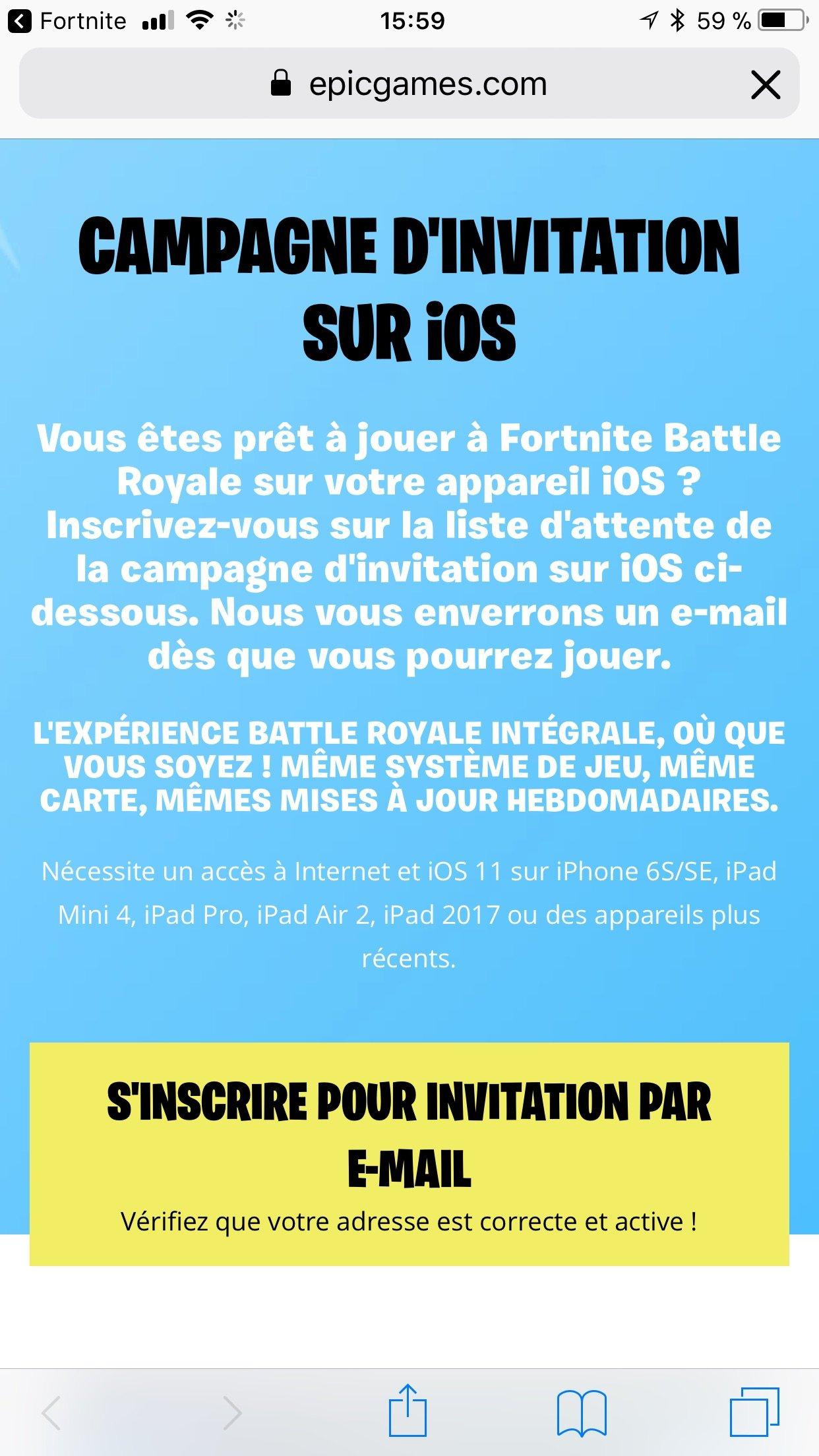 fortnite battle royale est disponible