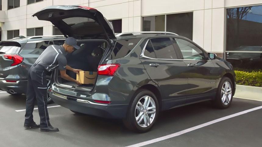 Amazon inizia a consegnare i pacchi direttamente nelle auto