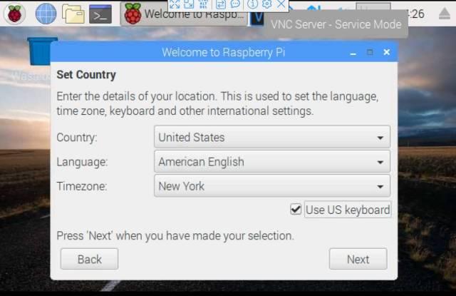 Raspberry Pi first setup